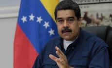 Maduro aicina Trampu 'novākt rokas' no Venecuēlas