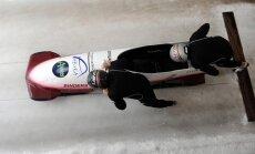 Latvijas bobsleja ekipāžām vietas labāko septītniekā EK divnieku sacensībās