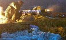 Ministrija ziņo par masīvu kaujinieku uzbrukumu; Zaharčenko pasludina ofensīvu pret Mariupoli