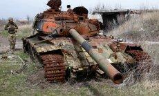 No Krievijas atbalstīto spēku šāviņiem krituši četri Ukrainas karavīri