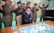 Ziemeļkoreja izmēģinājusi vēl vienu ballistisko raķeti