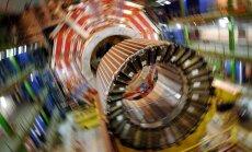 Zinātnieki 'noķer' jaunu elementārdaļiņu, cer uz Higsa bozona atklāšanu