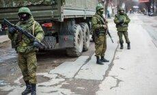 Krimas premjers pakļauj sev drošības spēkus un lūdz Putina palīdzību