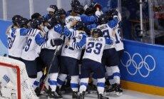 Somijas hokejistes pieveic OAR un izcīna Phjončhanas spēļu trešo vietu
