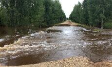 Viļakas novadā plūdu radītie zaudējumi pārsniedz 193 000 eiro