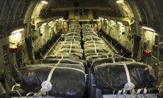 ASV lidmašīnas veikušas uzlidojumus islāmistiem un pārtikas piegādes jezīdiem Irākas ziemeļos