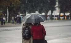 Во вторник в Риге ожидается сильный дождь, возможен град