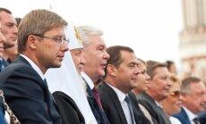 Ušakovs Maskavā ticies ar Medvedevu, patriarhu Kirilu un Sobjaņinu