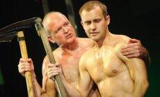 Foto: Nacionālais teātris ar izrādi 'Mans nabaga tēvs' atklās sezonu