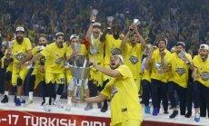 'Fenerbahce' basketbolisti pirmo reizi vēsturē kļūst par ULEB Eirolīgas čempioniem