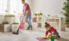 Pieci nelieli mājas uzkopšanas darbi, ko vajadzētu izdarīt katru dienu