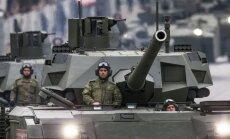 Krievijas supertanks 'Armata': vai NATO valstīm ir pamats bažām?