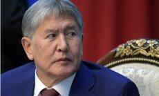 Kirgizstānas prezidents nogādāts ārstēties Maskavā