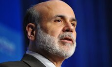 """Federal Reserve Chairman Ben Bernanke addresses the Economic Club of Washington December 7, 2009 at a hotel in Washington, DC. The US recovery from deep recession has """"some way to go"""" before it becomes rooted enough to be """"self-sustaining,"""" Bernanke said"""