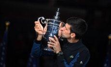 Džokovičs triumfē 'US Open' un izcīna 14. 'Grand Slam' titulu