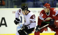 Latvija cīņā par vietu pasaules čempionāta ceturtdaļfinālā tiekas ar Baltkrieviju