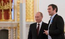 Hokejists Ovečkins dibina 'Putina komandu'