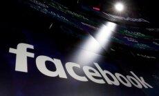 'Facebook' datu skandāls skāris 87 miljonus lietotāju