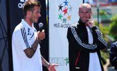 Бекхэм предложил Зидану должность главного тренера в своем клубе
