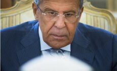 Putins ANO Ģenerālajā asamblejā runās par Rietumu apsēstību ar sankcijām, norāda Lavrovs