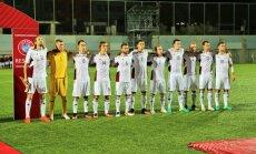 Сборная Латвии вымучила победу над худшей командой Европы