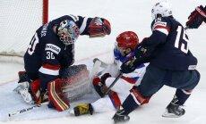 ASV hokeja izlase nebija gatava šādai Znaroka vadītās komandas spēlei