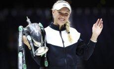 Каролин Возняцки выиграла Итоговый турнир WTA