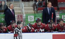 Latvijas hokeja izlase atkal zaudē Šveicei