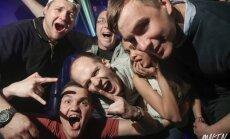 Foto: Rīgas šikākajā klubā plosās labākie drifteri
