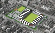 LFF jaunais stadions maina vizuālo izskatu; gada laikā jāatrod 1,5 miljons eiro