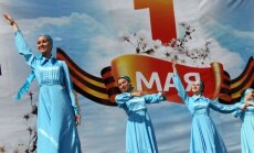 ФОТО: как отмечали Первомай в России
