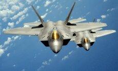 Krievijas draudi: ASV Eiropā izvietos modernos F-22 iznīcinātājus