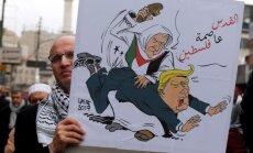 Tramps draud pārtraukt ASV palīdzību palestīniešu pašpārvaldei