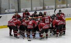 Хоккеисты сборной Латвии сыграют на турнире в Сочи