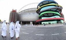 Mediji: diplomātiskā krīze apdraud 2022. gada Pasaules kausa norisi Katarā