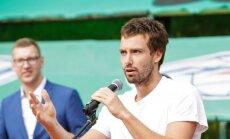 Теннисист Эрнест Гулбис распрощался с холостой жизнью
