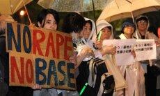 Japānā apturēta ASV militārās bāzes celtniecība Okinavā