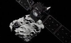 Vēsturisks mirklis – Eiropas zonde 'Philae' mēģina nosēsties uz komētas