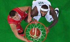 Riodežaneiro vasaras olimpisko spēļu basketbola turnīra rezultāti (12.08.2016.)