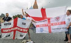 Anglijas un Horvātijas futbola izlases noskaidro otru Pasaules kausa finālistu