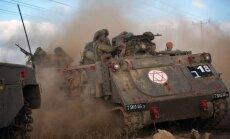 Izraēla savas armijas rīcību Gazas karā dēvē par leģitīmu