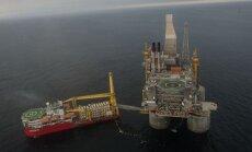 Tālajos Austrumos darbu uzsāk ASV un Krievijas kopprojekts - gigantiskā naftas platforma 'Berkut'