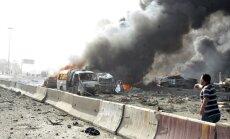 Sīrijas drošības spēku reidā pie Damaskas 43 nogalinātie