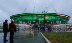 Pasaules kausa stadions Sanktpēterburgā skaitās oficiāli uzbūvēts