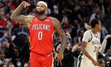 NBA čempionvienība 'Warriors' oficiāli izziņo līgumu ar Kazinsu
