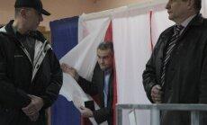 Krimas pievienošanu Krievijai atbalstījuši 95,5% balsotāju, liecina provizoriskie rezultāti