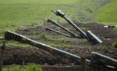 Azerbaidžāņu un armēņu sadursmēs divi bojāgājušie