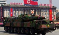ASV izlūkdienests: Ziemeļkorejas rīcībā varētu būt uz raķetēm uzstādāmas kodolgalviņas