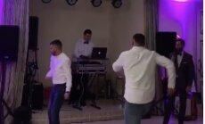 Video no ballītes: Bokseris Usiks laižas jestrā dancī