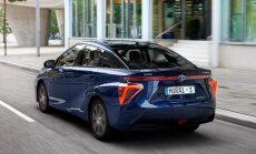 Izstādē Ķīpsalā prezentēs ar ūdeņradi darbināmo 'Toyota Mirai'
